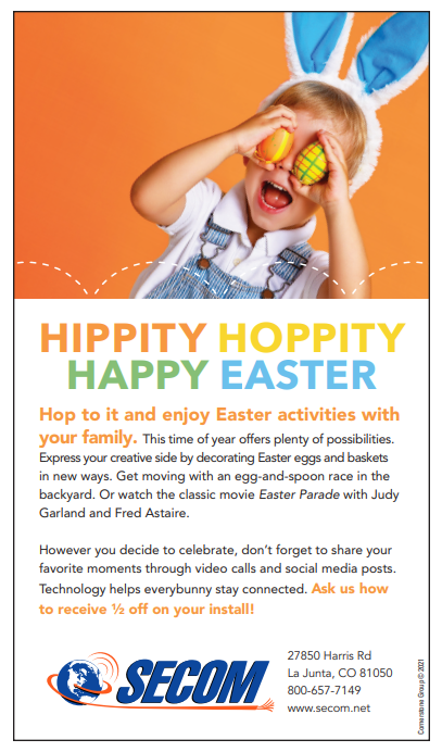 SECOM Happy Easter April AD